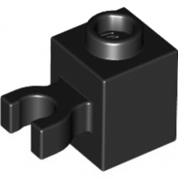 LEGO 4515356 BRIQU 1X1 W/HOLDER, H0RIZONTAL -NOIR