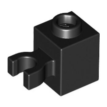 LEGO 4515356 BRIQU 1X1 W/HOLDER, H0RIZONTAL -NOIR