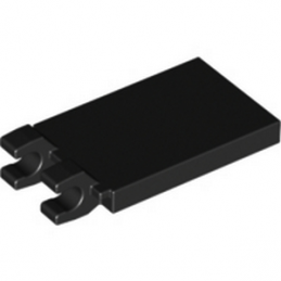 LEGO 4194067 PLATE 2X3 W. HOLDER - NOIR lego-4297713-plate-2x3-w-holder-noir ici :