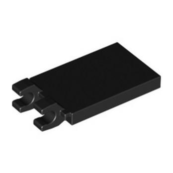 LEGO 6360129 PLATE 2X3 W. HOLDER - BLACK