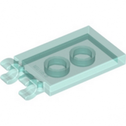 LEGO 4603191 PLATE 2X3 W. HOLDER - BLEU TRANSPARENT