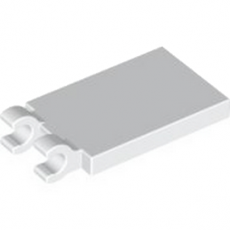 LEGO 4121510  PLATE 2X3 W. HOLDER - BLANC lego-4599983-plate-2x3-w-holder-blanc ici :