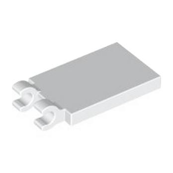 LEGO 6360131 PLATE 2X3 W. HOLDER - WHITE
