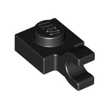 LEGO 601926  PLATE 1X1 W/HOLDER VERTICAL - NOIR lego-6308000-plate-1x1-wholder-vertical-noir ici :