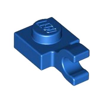 LEGO 6347291 PLATE 1X1 W/HOLDER VERTICAL - BLUE