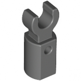 LEGO 6015890 HOLDER Ø3.2 W/TUBE Ø3.2 HOLE - DARK STONE GREY