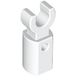 LEGO 6052824 HOLDER Ø3.2 W/TUBE Ø3.2 HOLE - BLANC