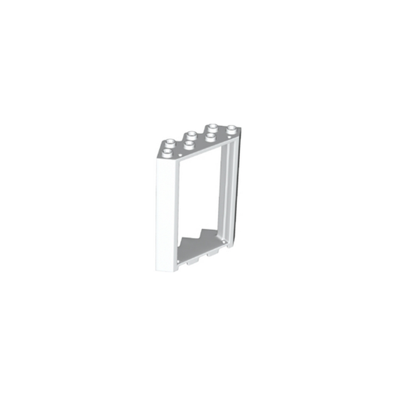 Lego 6177157 fenetre d 39 angle 4x4x6 blanc for Fenetre d angle