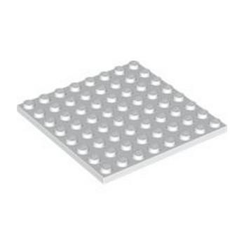 LEGO 4178317 PLATE 8X8 - BLANC