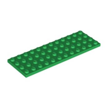 LEGO 302928 PLATE 4X12 - DARK GREEN