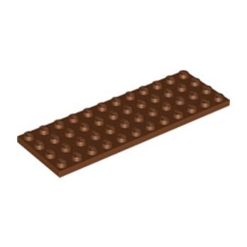 LEGO 4225520 PLATE 4X12 - REDDISH BROWN