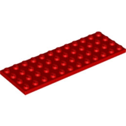 LEGO 302921 PLATE 4X12 - ROUGE