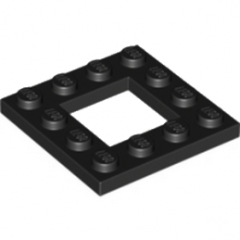 LEGO 6058118  PLATE 4X4 - NOIR