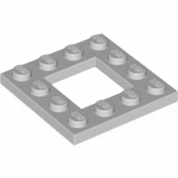 LEGO 4612621 PLATE 4X4 - MEDIUM STONE GREY