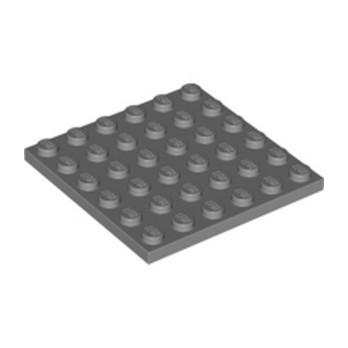 LEGO 4211134  PLATE 6X6 - DARK STONE GREY