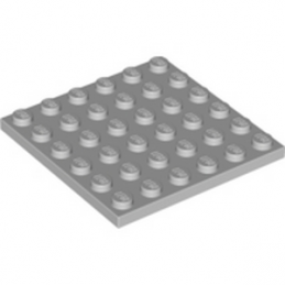 LEGO 4211474  PLATE 6X6 - MEDIUM STONE GREY