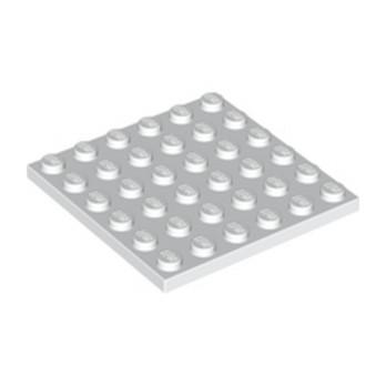 LEGO 395801 PLATE 6X6 - BLANC