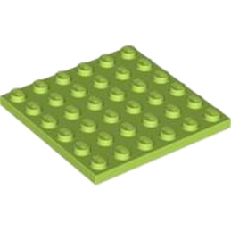 LEGO 4525858  PLATE 6X6 - BRIGHT YELLOWISH GREEN
