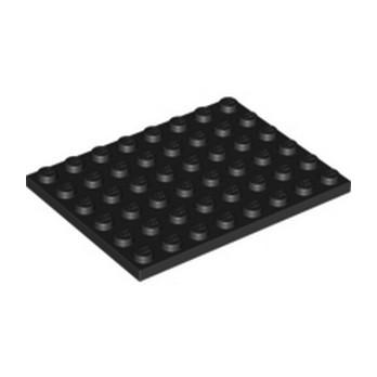 LEGO 303626 PLATE 6X8 - NOIR lego-303626-plate-6x8-noir ici :