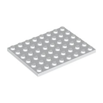 LEGO 303601 PLATE 6X8 - BLANC lego-303601-plate-6x8-blanc ici :