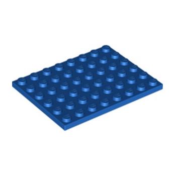 LEGO 303623 PLATE 6X8 - BLUE
