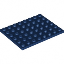LEGO 6146302 - PLATE 6X8 - EARTH BLUE