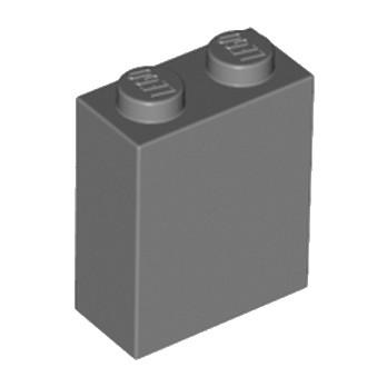 LEGO 4210978 BRICK 1X2X2 - DARK STONE GREY