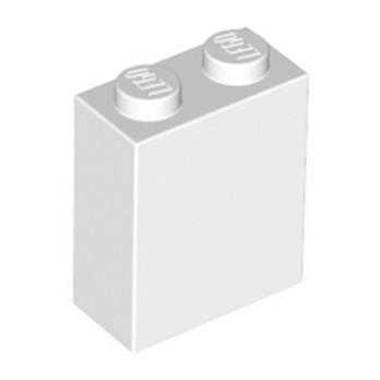 LEGO  4113261 BRIQUE 1X2X2 - BLANC