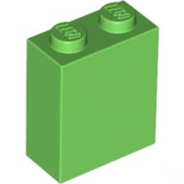 LEGO 6103986 BRIQUE 1X2X2 - BRIGHT GREEN