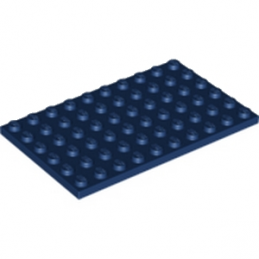 LEGO 6200659 PLATE 6X10 - EARTH BLUE