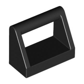 LEGO 243226 CLAMP 1X2 - NOIR