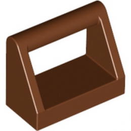 LEGO 4211219 CLAMP 1X2 - REDDISH BROWN