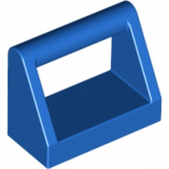 LEGO 243223  CLAMP 1X2 - BLEU