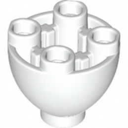 LEGO 6151968 - SPHERE 2X2X1 1/3 INVERTED - BLANC lego-6151968-sphere-2x2x1-13-inverted-blanc ici :