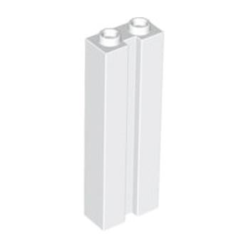 LEGO 4582155 BRIQUE 1X2X5 W. GROOVE - BLANC