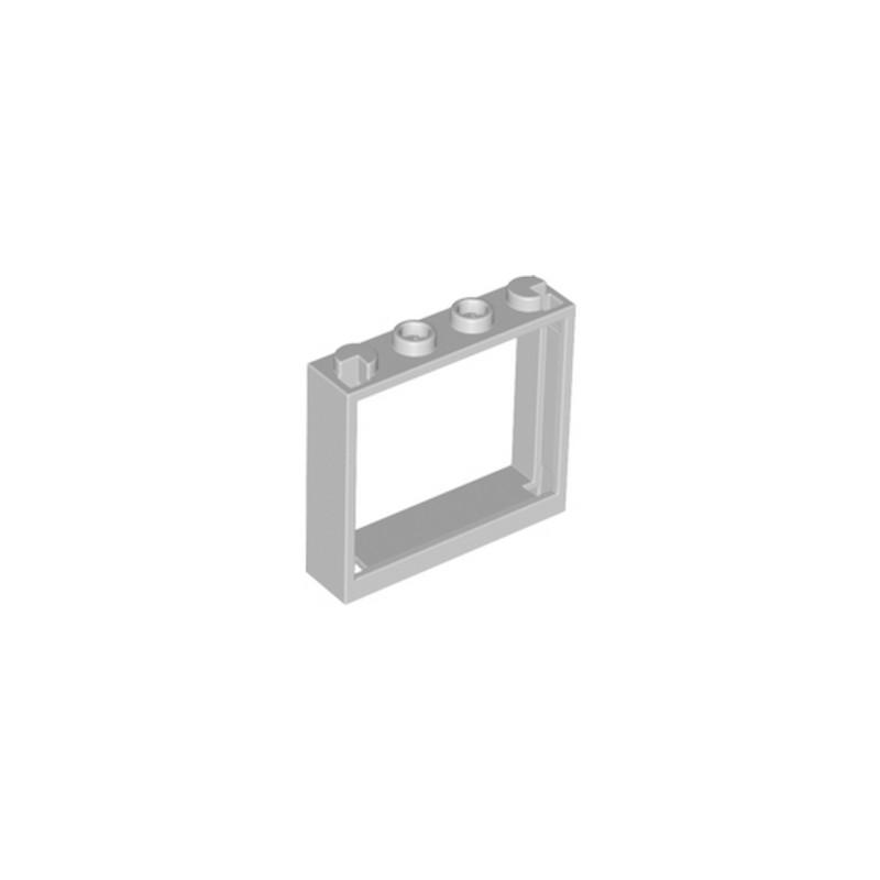 Lego 6146299 fenetre 1x4x3 medium stone grey for Fenetre lego