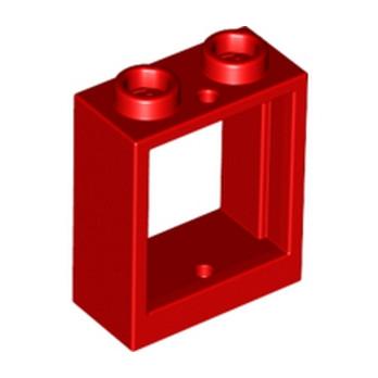 LEGO 4521438 FENETRE 1X2X2 - ROUGE