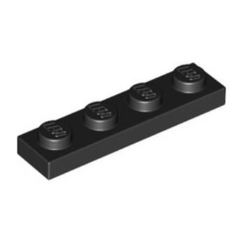 LEGO 371026 PLATE 1X4 - NOIR