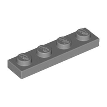 LEGO 4211001 PLATE 1X4 - DARK STONE GREY
