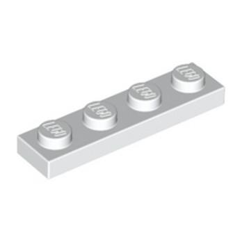 LEGO 371001 PLATE 1X4 - BLANC