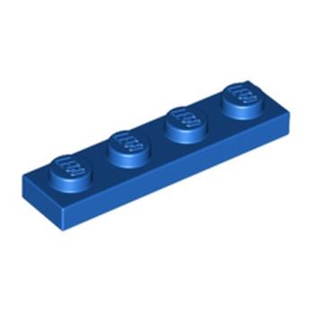 LEGO 371023 PLATE 1X4 - BLUE