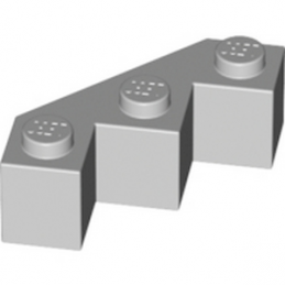 LEGO 4211718 FACET BRIQUE 3X3X1 - MEDIUM STONE GREY