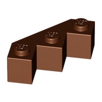 LEGO 6152330 FACET BRIQUE 3X3X1 - REDDISH BROWN