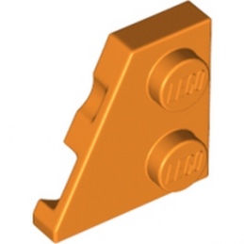 LEGO 6173933 - PLATE 2x2 27° GAUCHE - ORANGE