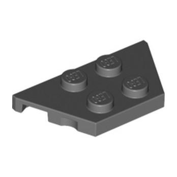 LEGO 4527082  PLATE 2X4X18° - DARK STONE GREY