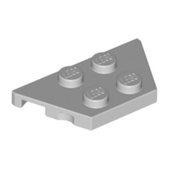 LEGO 4252368 PLATE 2X4X18° - MEDIUM STONE GREY