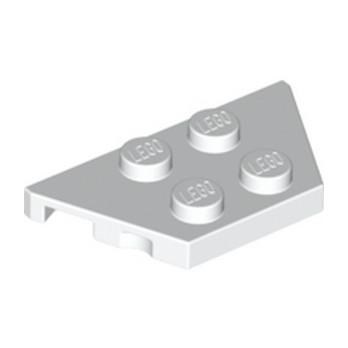 LEGO 4249506  PLATE 2X4X18° - BLANC