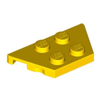 LEGO 4260192  PLATE 2X4X18° - JAUNE