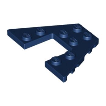 LEGO 6172284 PLATE 6X4 W/ANGLE - EARTH BLUE