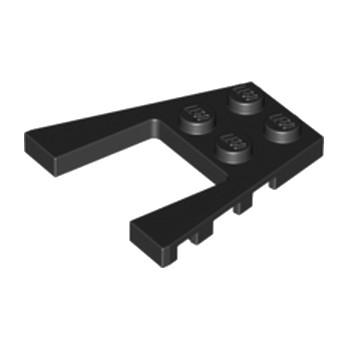 LEGO 4180432 PLATE 4X4 W/ANGLE - NOIR